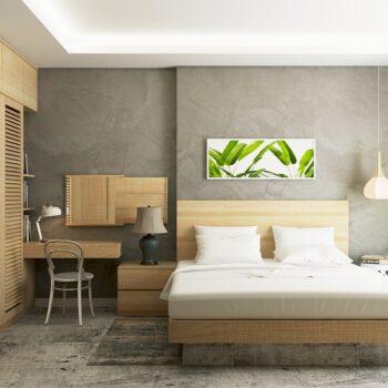 sypialnia zen